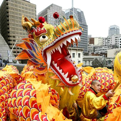 the meaning of dragon and lion dancing