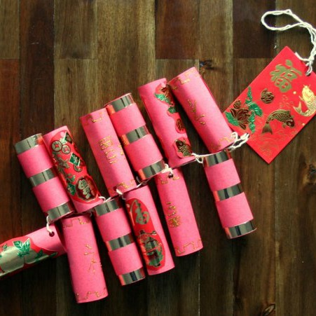 How to Make a Paper Firecracker Decoration