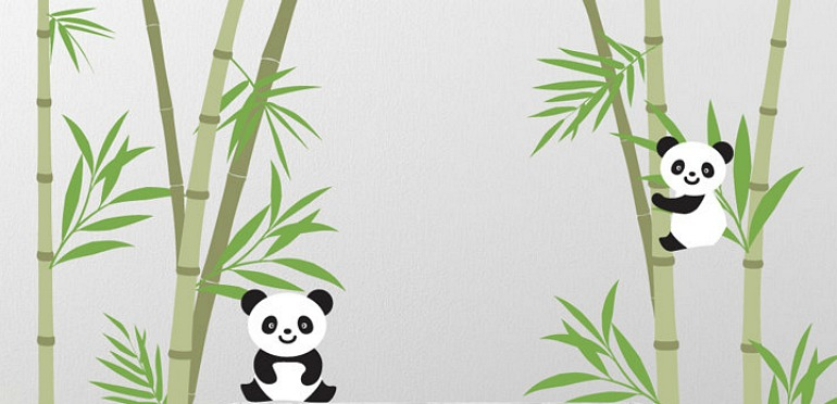 How to Create a China-Inspired Nursery with Wall Decals