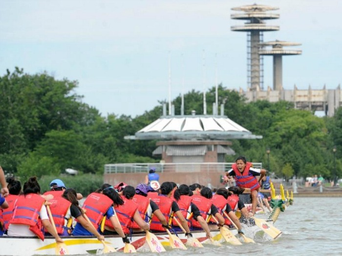 The Hong Kong Dragon Boat Festival in New York
