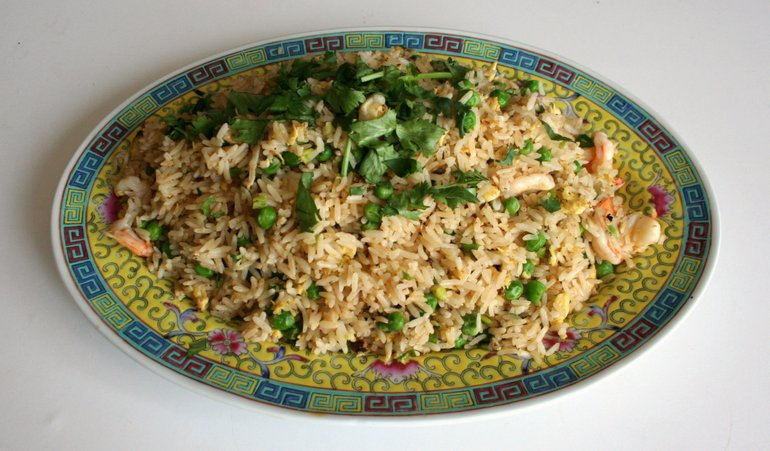 How to make yangzhou fried rice chinese american family 28 jul 2015 ccuart Images