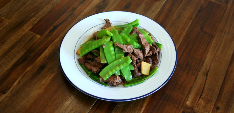 How To Make Stir Fried Beef with Snow Peas