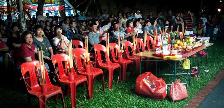 Hungry Ghost Festival Traditions