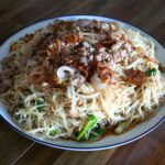 How To Make Rice Noodles with Pork and Bean Sprouts