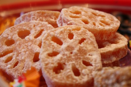 Candied Lotus Root