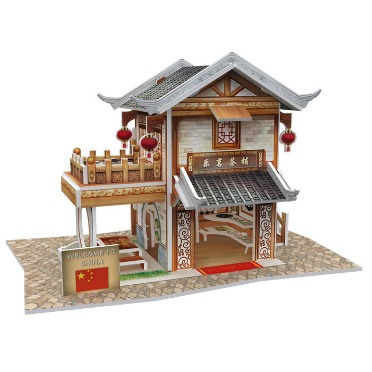 Traditional Chinese Tea House Kit
