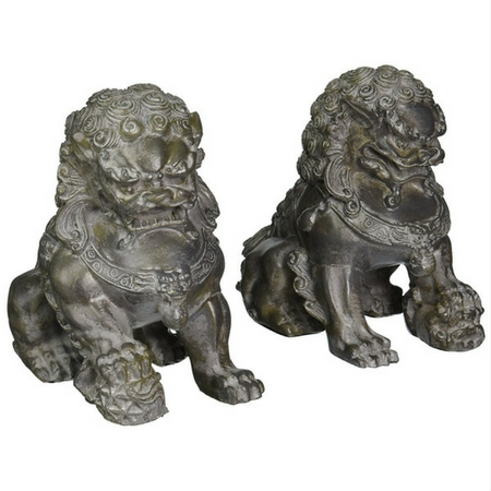 Sitting Foo Dog Bookends