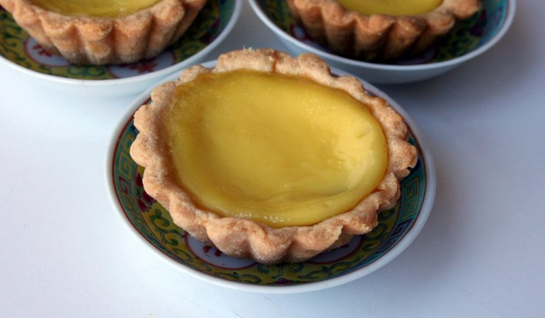An Afternoon Making Egg Tarts, a Chinatown Classic