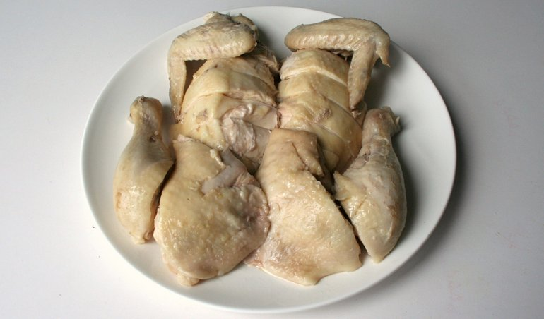 How To Make A Whole White Cut Chicken