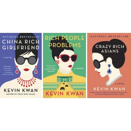 The 2018 Warner Brothers Release Of Crazy Rich Asians Brought Author Kevin Kwan Big Screen Fame And Fortune Gift All Three Novels In